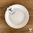 Pack 400 assiettes carton biodégradables 23 cm