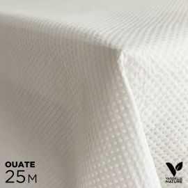 Nappe blanche 1,2 x 25 m Biodégradable - Compostable