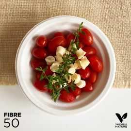 50 Bols 40cl 100% fibres biodégradables - compostables