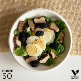 50 Coupelles 46cl 100% fibres Biodégradables - compostables et plates