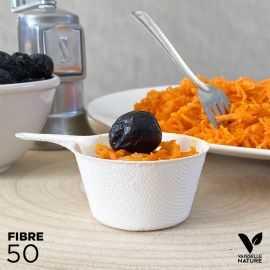 50 Verrines Mini-caquelon Biodégradables - compostables