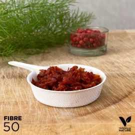 50 Verrines Mini-Poêlon Biodégradables - compostables